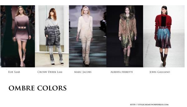 ombre colors copy